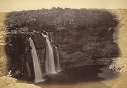General view of the Falls of Gokak, Konnur, Belgaum District
